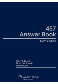 457 Answer Book, Sixth Edition